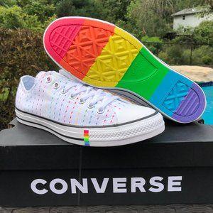 Converse Chuck Taylor All Star PRIDE OX WHITE Lo